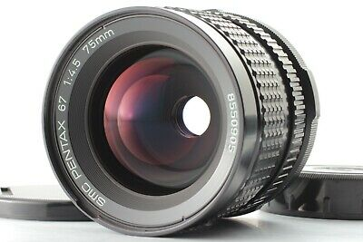 [MINT] SMC Pentax 67 75mm F/4.5 Lens Late model For 6x7 67II From Japan #2298