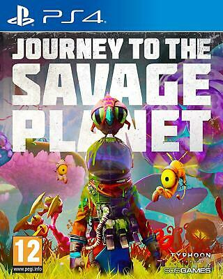 Journey To The Savage Planet PS4 New Factory Sealed