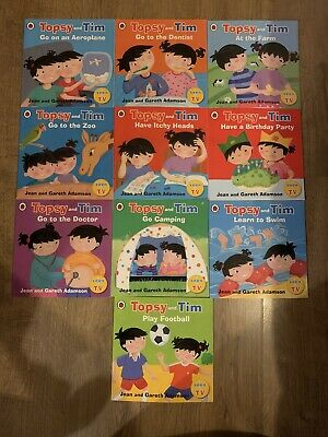 Topsy and Tim First Experiences Collection 10 Books Box Set PB NEW