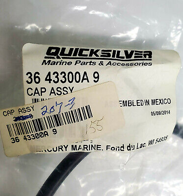 OEM Mercury Quicksilver Oil Resevoir Cap Assembly 36-43300A9 V6 2 Cycle others