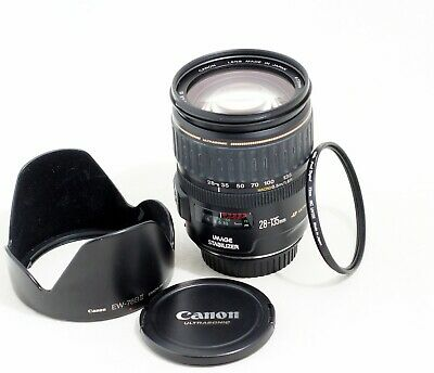 CANON EF 28-135mm IS USM Macro lens EOS 1Ds 7D 5D II III T7i T6i 80D 6D etc