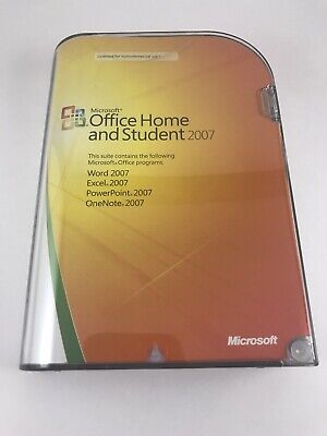 Microsoft Office 2007 Home and Student - 5425018691005