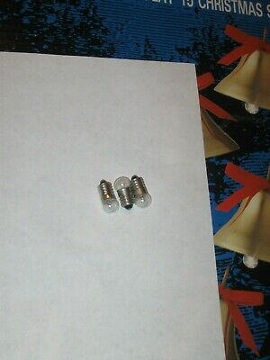 3 MR CHRISTMAS REPLACEMENT LIGHT BULBS FOR MUSICAL BELLS & Possibly other sets