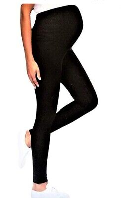 Leggings Maternity Leggings Pregnancy Black Meritex Leggings Stretch