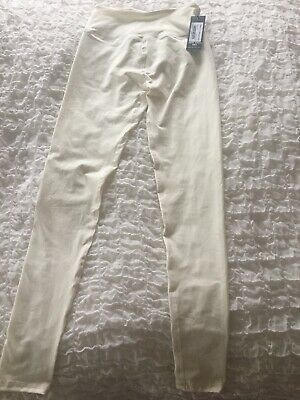 I Saw It First White/cream Leggings Size Xs New With Tags