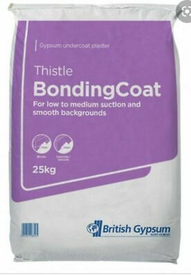 FREE /& FAST DELIVERY Thistle Multi Finish Plaster 25kg Bag