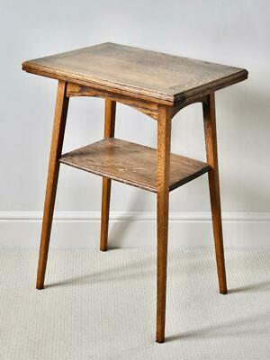 Arts and Crafts Movement / Liberty Style C20th Oak Folding Card Table