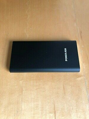 Poweradd Pilot 2GS 10,000mA Dual-Port Power Bank Portable Battery Black