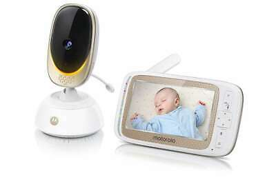 """Motorola COMFORT85 Connect Video Baby & Home Monitor with 5"""" HD Display and Wi-F"""