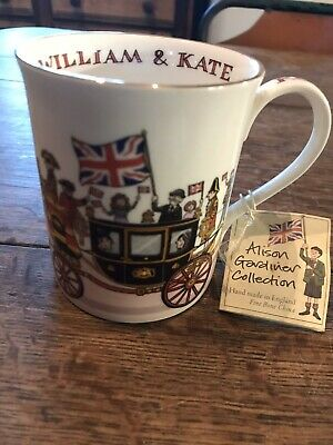 PRINCE WILLIAM & Kate Royal Wedding Commemorative Fine Bone China ...