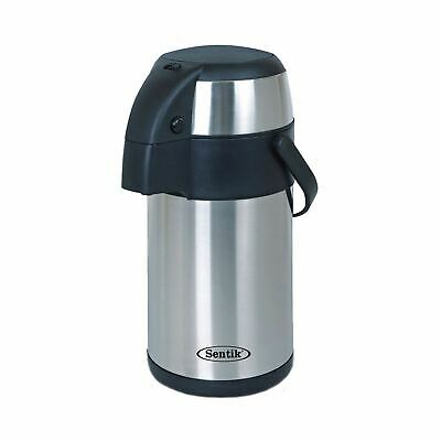 3 Litre Stainless Steel Airpot Vacuum Flask Thermos Jug with Pump Action