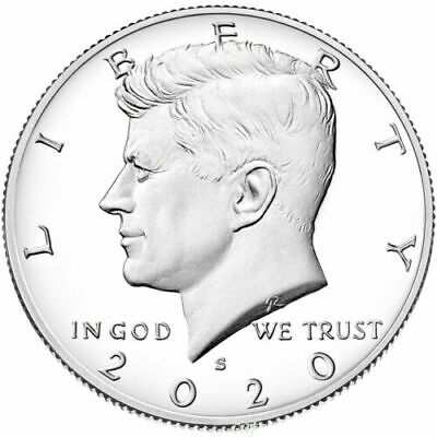 2020 S Clad Kennedy Half Dollar Deep Cameo Gem Proof IN STOCK