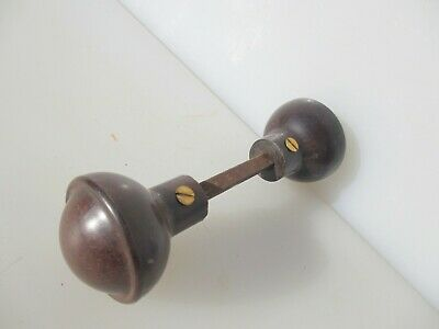 Vintage Bakelite Door Knobs Handles Art Deco 1930's Antique Old