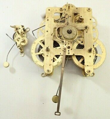 Antique Seth Thomas 8 1/4 Kitchen Clock Movement With Alarm Parts Repair