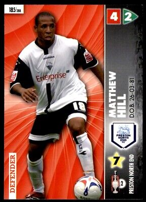 Panini Coca-Cola Championship (2007) Card - Matthew Hill Preston North End #185