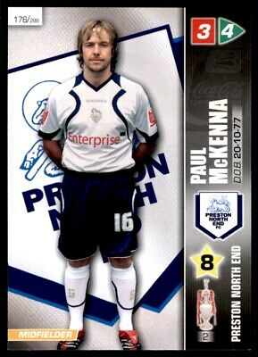 Panini Coca-Cola Championship (2008) Card - Paul McKenna Preston North End #176