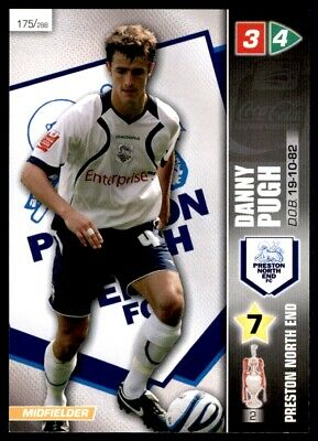 Panini Coca-Cola Championship (2008) Card - Danny Pugh Preston North End No. 175