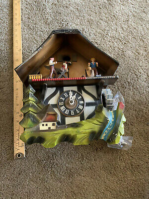 Vintage West German E. Schmeckenbecher  Cuckoo Clock ,Parts or repair