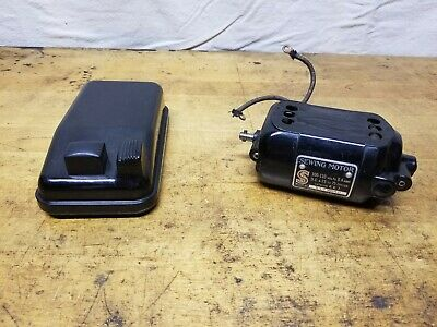 Vintage Singer Sewing Machine Motor And Controller Pedal
