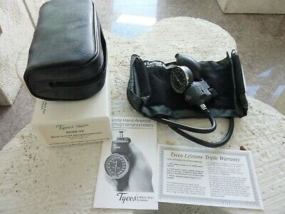 NEW Welch-Allyn Tycos Hand Held Blood Pressure Aneroid Sphygmomanometer 5098-02