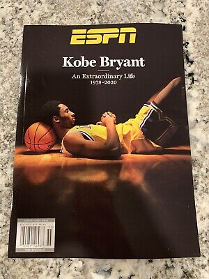 New Kobe Bryant - ESPN Magazine - Special Edition 2020 Tribute Issue In Hand NBA
