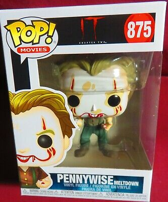 "Pennywise Meltdown, Brand New, Pop Movies From ""It"", #875      In Hand"