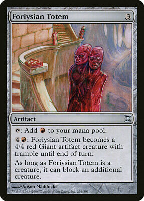 Time Spiral 4x MTG: Phyrexian Totem Uncommon Artifact TSP Magic Card