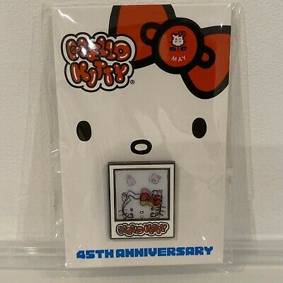 NEW Sanrio Hello Kitty 45th Anniversary Friend of the Year Pin Month May !