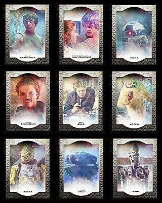 CLASSIC 9 CARD SET THE EMPIRE STRIKES BACK 2020 Topps STAR WARS DIGITAL TRADER