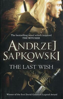 The Last Wish Brand New Paperback Book The Witcher Netflix Show BestSeller Gift