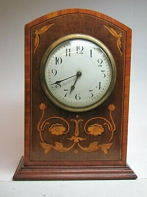 A Smart Edwardian French Timepiece Mantel Clock