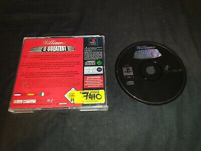 WILLIAMS ARCADE'S GREATEST HITS Sony Playstation 1 Game PS1