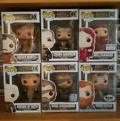 Funko Pop Game of Thrones Lot (6)