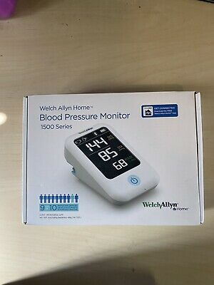Welch Allyn Home 1500 Series Upper Arm Blood Pressure Monitor With  Bluetooth