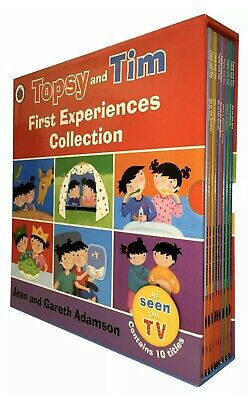 Topsy and Tim First Experiences Collection 10 Books Box Set New Sealed