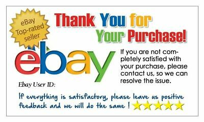 Business Cards Custom Full Color 500 Cards eBay Thank You 5 Starts