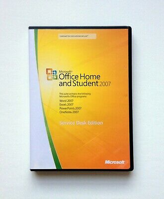 Microsoft Office Home and Student 2007 - 3 PC's Install