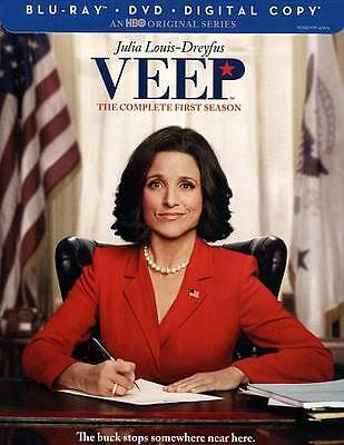 VEEP: The Complete First Season (Blu-ray + DVD + Digital Copy) NEW & SEALED!