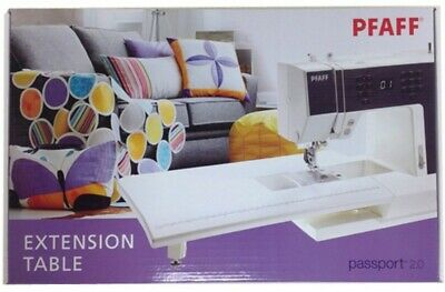 Pfaff Passport 2.0 Sewing Machine Flatbed Extension Table w/Carrying Case-NEW