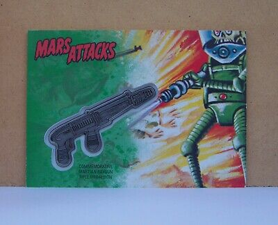 2017 Topps Mars Attacks Revenge Shrinking Ray Raygun Medallion card CM-SR 55/55