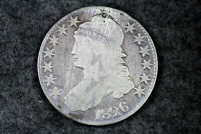 Estate  Find 1826  Capped Bust Half Dollar  #D21049