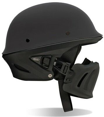 Bell Rogue - Matte Black Half Helmet - Fast Free Delivery