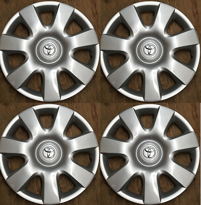 4 x 15 inch hubcap wheel covers fits Toyota Camry 2000 2001 2002 2003 2004-2006