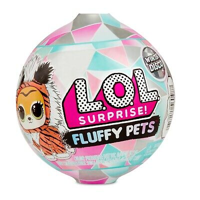 LOL Surprise Winter Disco Series FLUFFY PETS Sealed Unopened Ball Valentines