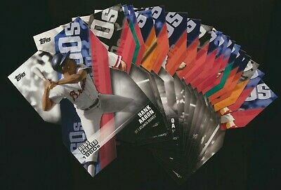 2020 Topps Series 1 Decade of Dominance Die-Cut Insert - Pick from List Qty Disc