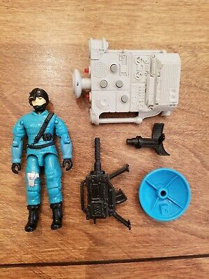 GI Joe Figure Accessory 1987 Psyche-Out       Projector with ELF Sonic Generator