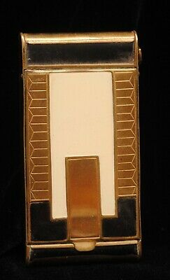 Vintage  Folding Camera Style Ladies Compact With Art Deco Motif (Pk)