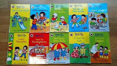 Topsy And Tim x 10 Books Bundle Collection By Joan And Gareth Adamson Ladybird