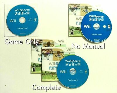 Wii Sports (Nintendo Wii, 2007) TESTED - Choose Your Condition!