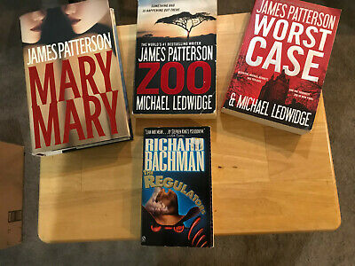 Lot of 4 Mystery/Thriller Novels - 3 Paperback, One Hardcover